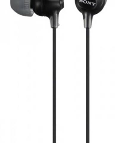 Špuntová sluchátka sony sluchátka mdr-ex15ap černá