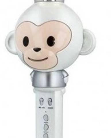 Bluetooth mikrofon forever am100v, bílý
