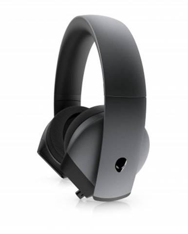 Herní sluchátka dell alienware aw510h, mikrofon, drátová, černá