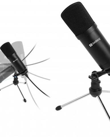 Mikrofon sandberg streamer, černý