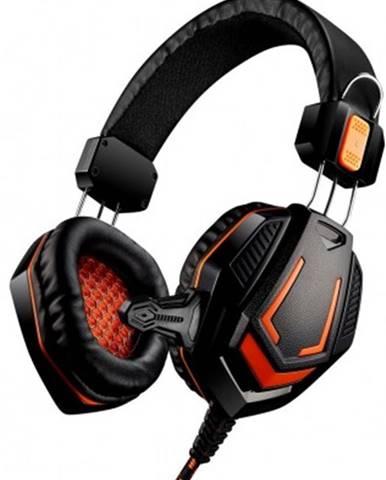 Sluchátka přes hlavu herní headset canyon fobos gh-3a, černý