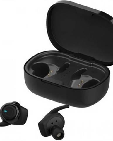 Špuntová sluchátka true wireless sluchátka forever 4sport twe-300 černé