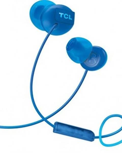 TCL Špuntová sluchátka tcl socl300bl sluchátka do uší, drátová, mikrofon, modrá
