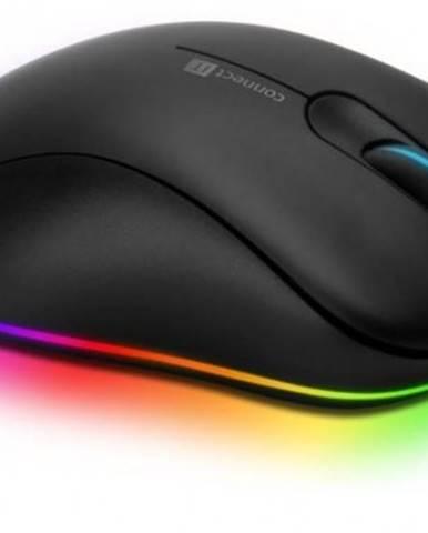 Drátové myši drátová myš connect it neo, herní, 6 tlačítek, podsvícená, černá