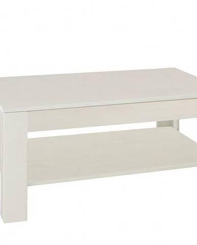 Konfereční stolek - dřevěný konferenční stolek nive - obdélník