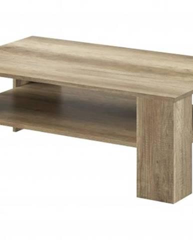 Konfereční stolek - dřevěný konferenční stolek sky - abs