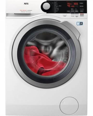 Pračka předem plněná pračka s předním plněním aeg prosteam l7fbe68sc, 8 kg