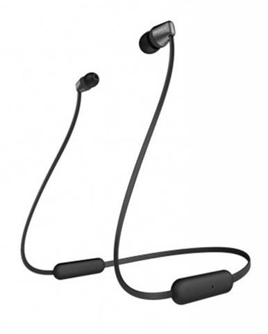 Špuntová sluchátka sony wi-c310 černá rozbaleno