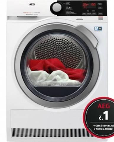 Sušička prádla sušička prádla aeg absolutecare t8dbe48sc, a++, 8 kg