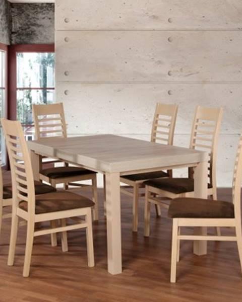 Firma Produkcyno CARGO Jídelní set set 17 - 6x židle,1x stůl,rozklad