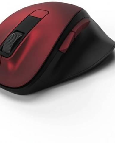 Bezdrátové myši bezdrátová myš hama mw 500, tichá, 6 tlačítek, červená