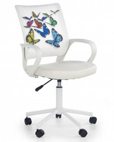 Dětský nábytek ibis butterfly - dětská židle, područky, regulace výšky sedáku
