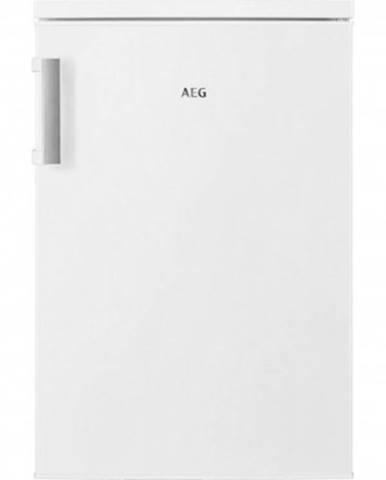 Jednodveřová lednice aeg rtb414f1aw,132l