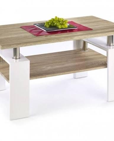 Konfereční stolek - dřevěný konferenční stolek diana