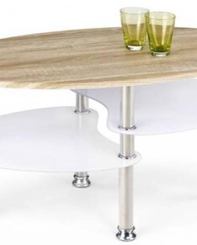 Konfereční stolek - dřevěný konferenční stolek medea