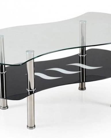 Konferenční stolek - skleněný konferenční stolek catania