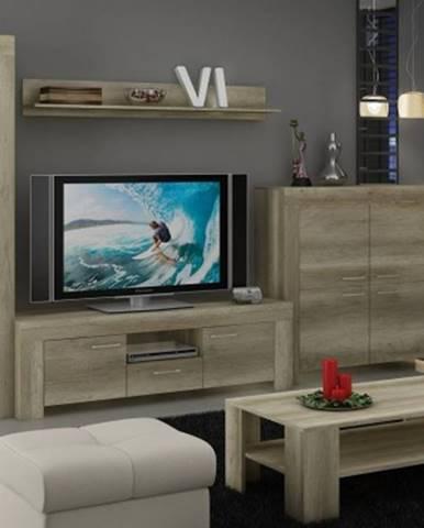 Sky - obývací stěna, komoda, , stolek, světlo