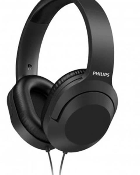 Philips Sluchátka přes hlavu philips tah2005bk