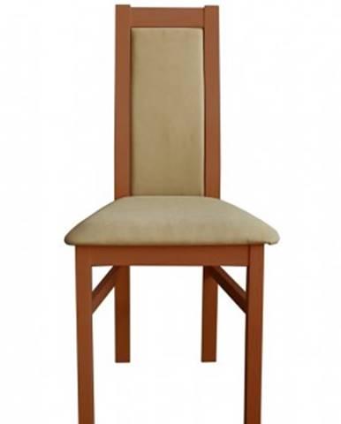 Jídelní židle jídelní židle agáta střední ořech, krémová