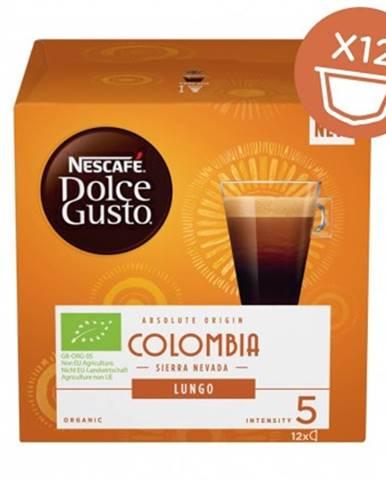 Kapsle, náplně kapsle nescafé dolce gusto colombia, 12ks