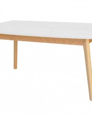 Konfereční stolek - dřevěný konferenční stolek st202002 bílá/buk