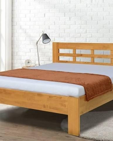 Rám postele vegas 180x200, ořech světlý