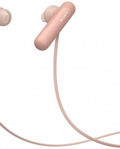 S mikrofonem sluchátka sony wisp500p.ce7