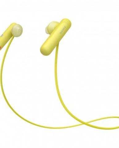 S mikrofonem sluchátka sony wisp500y.ce7