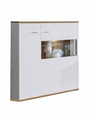 Vitrína obývací vitrína wotan - typ 4, pravá