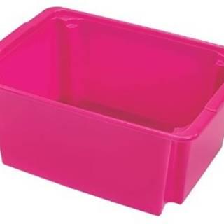 úložný box heidrun hdr5108, 14l, plast, mix barev