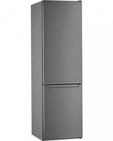 Kombinovaná lednice s mrazákem dole whirlpool w5 921e ox 2
