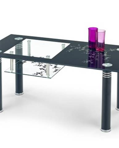 Konferenční stolek - skleněný konferenční stolek monroe