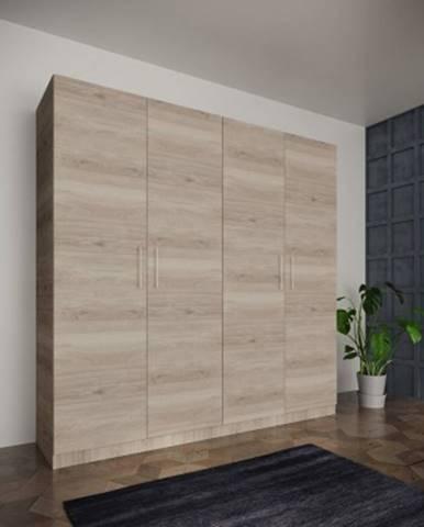 šatní skříň paluda - 205x204x52 cm