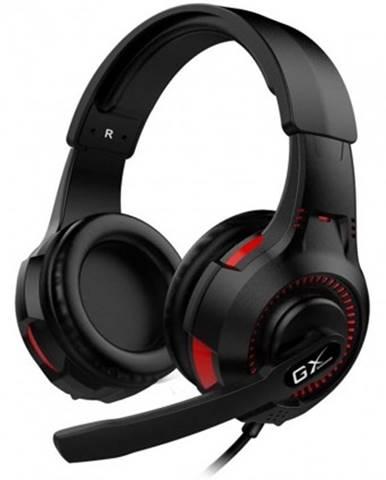 Sluchátka přes hlavu herní headset genius gx hs-g600v, vibrační, s mikrofonem