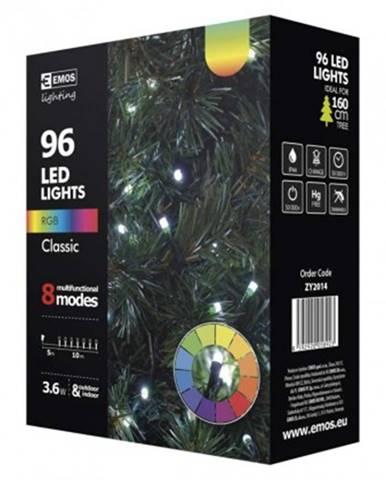 Vánoční dekorace vánoční osvětlení emos zy2014, studená bílá, volba barvy, 10 m