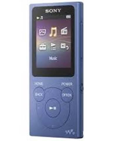 MP3 přehrávače sony nw-e394 8 gb, modrá