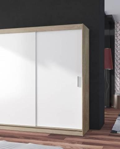 Posuvná šatní skříň pop 2 - 180x215x60 cm