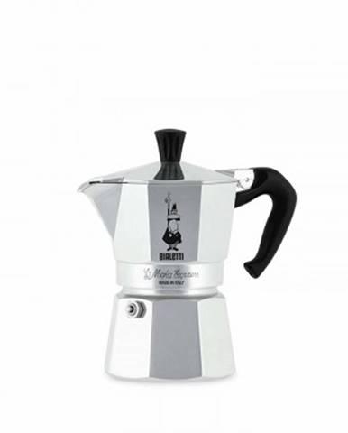 Překapaváč kávy bialetti moka express 3, stříbrná