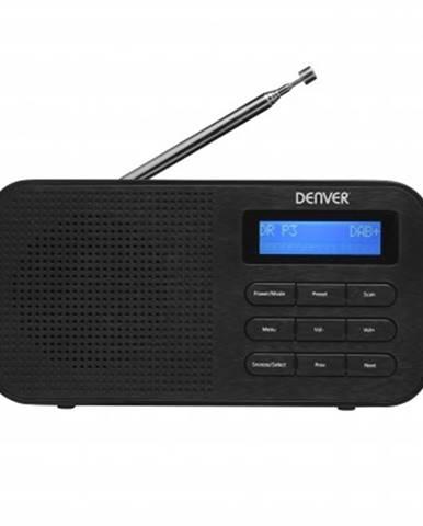 Radiopřijímač denver dab-42