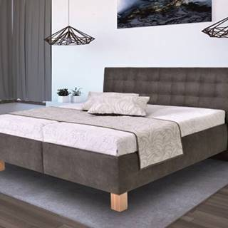čalouněná postel victoria 160x200 vč. matrace, pol. roštu a úp