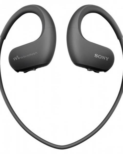 Sony MP3 přehrávače sony nw-ws413 4 gb, černá