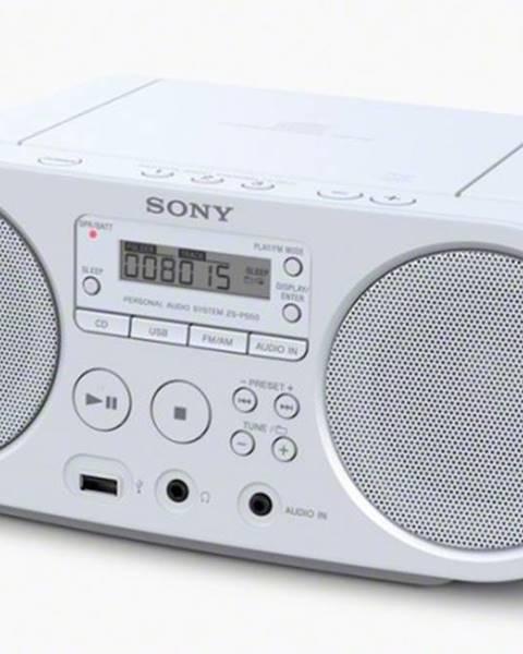 Sony Radiopřijímač sony zs-ps50w, bílá