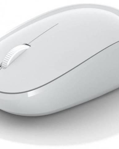 Bezdrátové myši bezdrátová myš microsoft bluetooth mouse, bílá rjn-00066