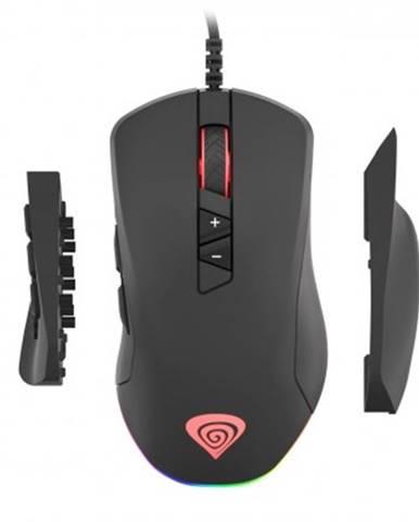 Drátové myši drátová myš genesis xenon 770, herní, černá