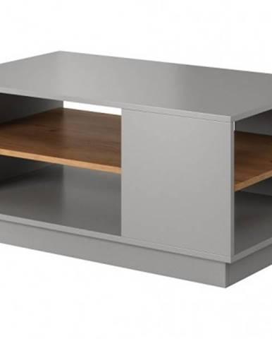 Konfereční stolek - dřevěný konferenční stolek duras