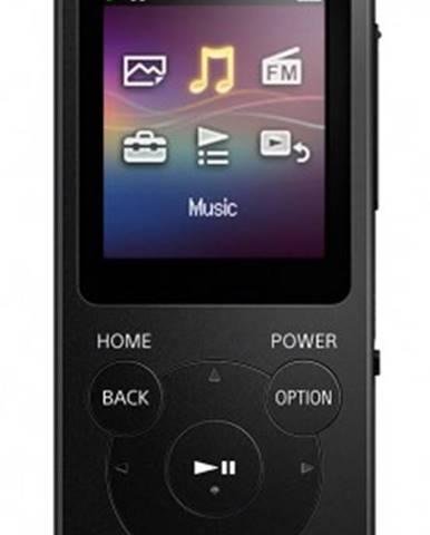 MP3 přehrávače sony nw-e394 8 gb, černá