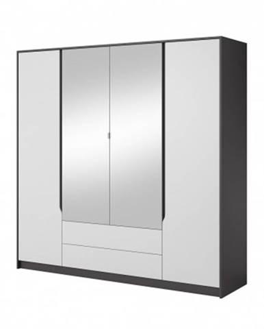 šatní skříň klaudia - 200x202x57 cm