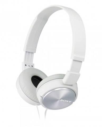Sluchátka přes hlavu sony sluchátka mdrzx310ap bílá