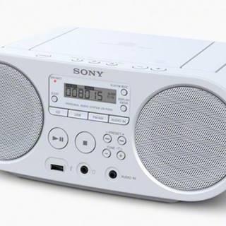Radiopřijímač sony zs-ps50w, bílá