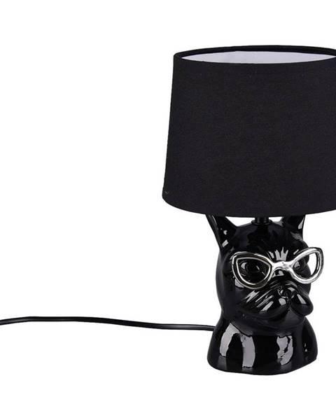 Novel STOLNÍ LAMPA, E14, 18/29 cm - černá, barvy chromu